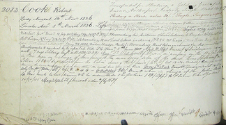 The Convict Record of Robert Cook(e)